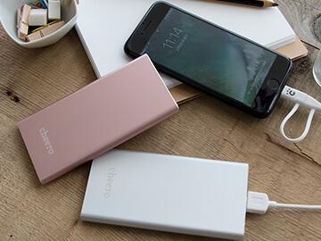 上品でスタイリッシュな薄型バッテリーが登場です。