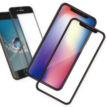 cheero Tempered Glass Screen Protector [全面フィット / 2.5D ]