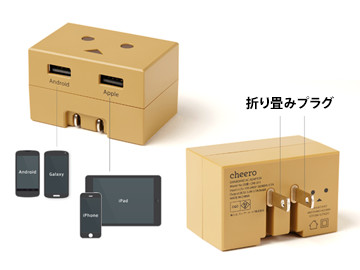 DANBOARD USB AC ADAPTOR 仕様説明図
