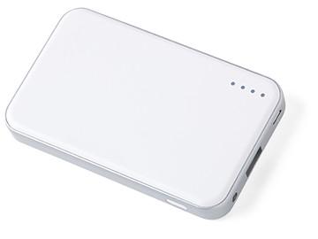 シンプルなホワイトボディに、マットでさらりとした手触りのcheero Energy Plus mini