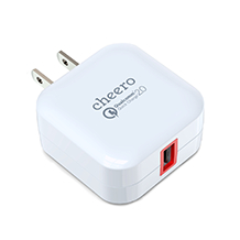 cheero USB AC Charger  QC2.0 ACアダプター
