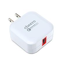cheero USB AC Charger  QC2.0 ACアダプター